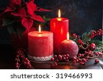 Christmas Decor With Red...