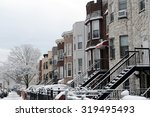 Snow Covered Houses...