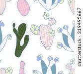 hand drawn seamless pattern of...   Shutterstock .eps vector #319495667