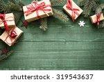 Pretty Christmas Holiday Borde...