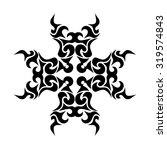 tribal tattoo vector design... | Shutterstock .eps vector #319574843