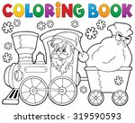 Coloring Book Christmas Train ...