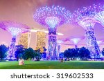 Supertree Grove At Garden By...