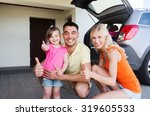 transport  leisure  road trip... | Shutterstock . vector #319605533