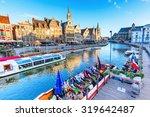 ghent  belgium   september 02 ... | Shutterstock . vector #319642487