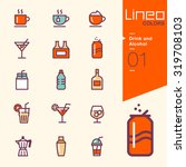lineo colors   drink and... | Shutterstock .eps vector #319708103