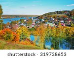 autumn nature. view of the... | Shutterstock . vector #319728653