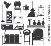 home appliance icons  home... | Shutterstock .eps vector #319782383