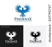logo phoenix phoenix logo eagle ... | Shutterstock .eps vector #319790747