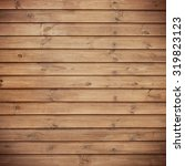 wooden plank background ... | Shutterstock . vector #319823123