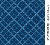 seamless navy blue vintage art...   Shutterstock .eps vector #319848173
