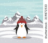 merry christmas concept with... | Shutterstock .eps vector #319872533