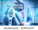 future of internet ui concept... | Shutterstock . vector #319912157