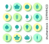 vector illustration  set of... | Shutterstock .eps vector #319949423