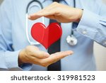 doctor is protecting heart ...