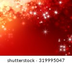 Shiny Festive Red Background...