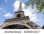 Eiffel Tower Paris Close Up