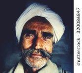 Indigenous Senior Indian Man...