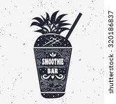 typography art. vegan poster...   Shutterstock .eps vector #320186837