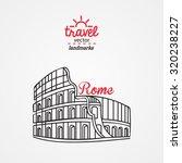 travel vector illustration.... | Shutterstock .eps vector #320238227