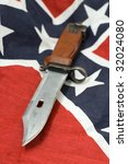 army knife on flag of the... | Shutterstock . vector #32024080