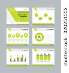 vector template presentation... | Shutterstock .eps vector #320251553