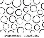 grunge circles background... | Shutterstock .eps vector #320262557