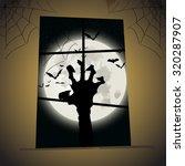 vector illustration of happy... | Shutterstock .eps vector #320287907