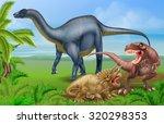 Постер, плакат: A tyrannosaurus Rex or