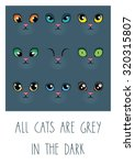 all cats are grey in the dark....