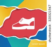 shoes icon   Shutterstock .eps vector #320321567