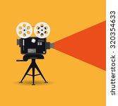 retro cinema icon | Shutterstock .eps vector #320354633