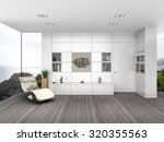 fictitious 3d rendering of a... | Shutterstock . vector #320355563