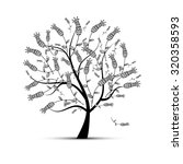 art tree beautiful for your... | Shutterstock .eps vector #320358593