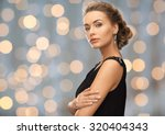 people  holidays and glamour... | Shutterstock . vector #320404343