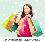 shopping  sale  gifts ... | Shutterstock . vector #320409587