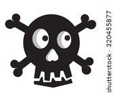 skull and crossbones | Shutterstock .eps vector #320455877