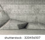 abstract concrete geometric... | Shutterstock . vector #320456507