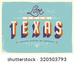 vintage style touristic... | Shutterstock .eps vector #320503793