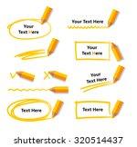 pencil drawing doodle frames... | Shutterstock .eps vector #320514437