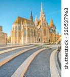 Matthias Church In Buda Castle...