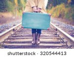 an elegant woman with a...   Shutterstock . vector #320544413