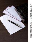 write a letter | Shutterstock . vector #320556857