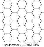 vector modern seamless geometry ... | Shutterstock .eps vector #320616347