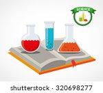 science book design  vector... | Shutterstock .eps vector #320698277