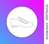 flat design icon   shoes