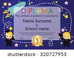 preschool elementary school... | Shutterstock .eps vector #320727953