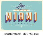 vintage style touristic... | Shutterstock .eps vector #320753153