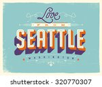 vintage style touristic... | Shutterstock .eps vector #320770307