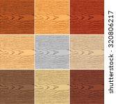 9 colors wood texture... | Shutterstock .eps vector #320806217